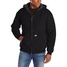 Men's Heavyweight Quilted Fleece Sweatshirt