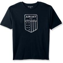 Men's US Shield Tee-Navy