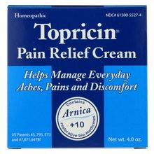 Topricin Cream Jar - 4 Oz