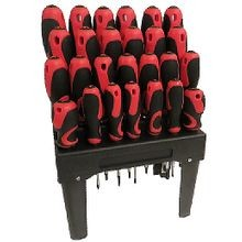 26-Piece Screwdriver Set with Stand