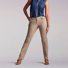 Ladies' The Essential Chino Medium Light Fawn Pants