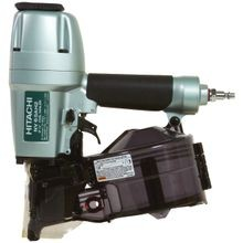 Nv65ah2 Lightweight Pneumatic Coil Siding Nailer, 1 1/2 2 1/2 In, 16 Deg Collation, 200 300 Capacity