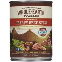 Whole Earth Farms Canned Stew Dog Food 12.7 oz