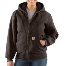 Women's Sandstone Active Quilted Flannel Jacket