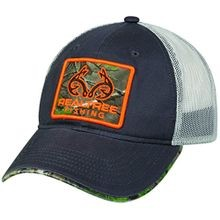 Camo Patch Mesh Back Fishing Hat