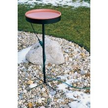 75-Watt Terra Cotta Heated Birdbath with Pedestal