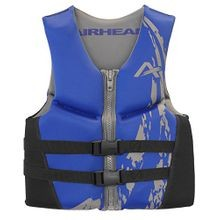 Youth Swoosh Kwik-Dry Neolite Vest in Blue, Size 3  (50-90 lbs)