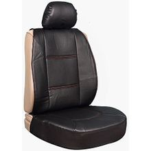 Performance Perforated Black Sideless Seat Cover