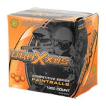 Draxxus Basic Training Paintballs, 1000 Count