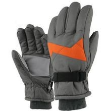 Boys' Bi-Color Taslon Ski Glove