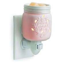 Pluggable Fragrance Warmer, Mason Jar