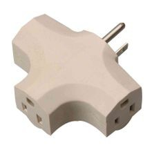 3 Outlet Indoor Power Adapter