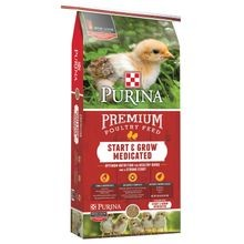 Start & Grow Medicated Premium Poultry Feed