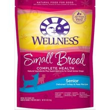 Complete Health Small Breed Senior Dog Natural Turkey & Peas Dry Dog Food - 4 lb