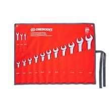 14 Piece SAE Wrench Set Combo w/ Canvas Roll