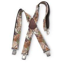 Realtree  Camo Suspenders
