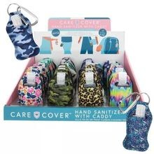 Care Cover Hand Sanitizer Carabiner Key Caddy