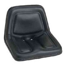 Deluxe High-Back Steel Pan Seat