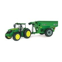 John Deere Tractor With Grain Cart
