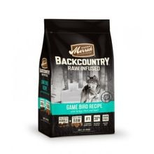 Backcountry Game Bird Adult Dog Food with Turkey Duck & Quail