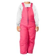 Toddler Girls' Chest High Bib Overalls