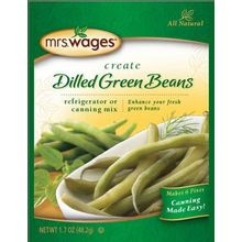 Dilled Green Beans Refrigerator or Canning Mix