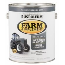 Farm and Implement Massey Fergueson Grey Paint 1-qt