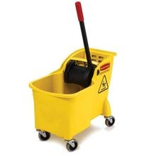 Mop Bucket with Wringer System