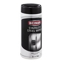 Stainless Steel Wipes Canister, 30 ct