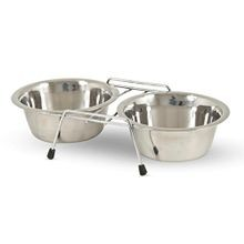 Cider Mills Stainless Steel Standard Double Diner with Bowl - 24 oz