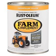 Farm & Implement Caterpillar Yellow Gloss Farm Equipment Paint (1 Qt)