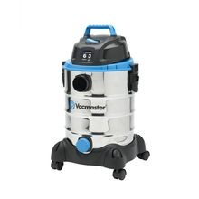 6 Gallon 3 Peak HP Stainless Steel Wet/Dry Vacuum