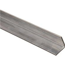 1 1/4 X 72 Inches  Steel  Zinc Plated Equal Leg Angle