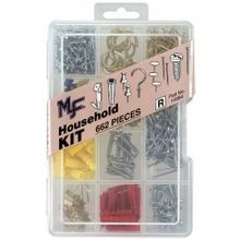 Household Assortment Kit, 662 Piece