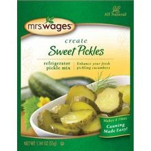 Refrigerator Sweet Pickle Mix