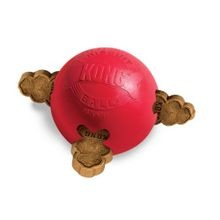 Biscuit Ball Dog Toy - Small, Red
