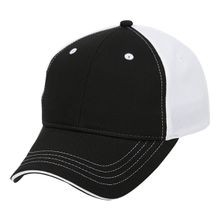 Classic Performance Cap, Black/White
