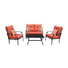 Panama 4-Piece Leisure Patio Set