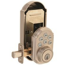 Satin Nickel Color Smart Code Door lock
