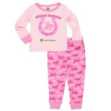 Infant Girls' Horseshoe Top Pajamas
