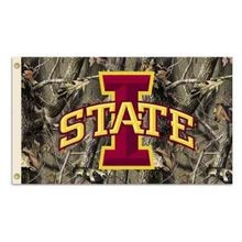 Iowa State Real Tree 3' x 5' Flag