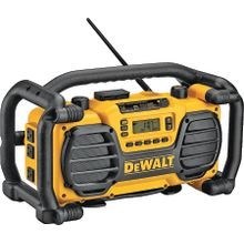 Dc012 Heavy Duty Worksite Charger/radio, Lcd Display