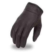 Men's Clean Look Leather Cruising Gloves