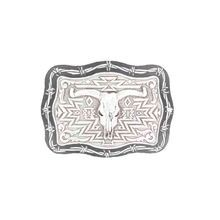 Men's Steer Skull Belt Buckle