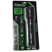 Tactical Grade 1200 Lumens LED Flashlight With Zoom