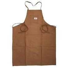 Round House Brown Duck 2-Pocket Shop Apron