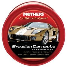 California Gold Brazilian Carnauba Cleaner Wax 12 Oz