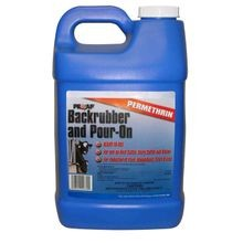 Back Rubber/Pour-On Insecticide
