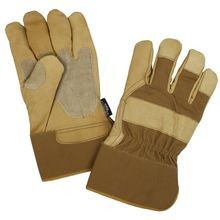 Insulated Leather Work Gloves