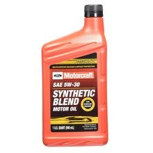 SAE 5W-30 Synthetic Blend Motor Oil - Qt